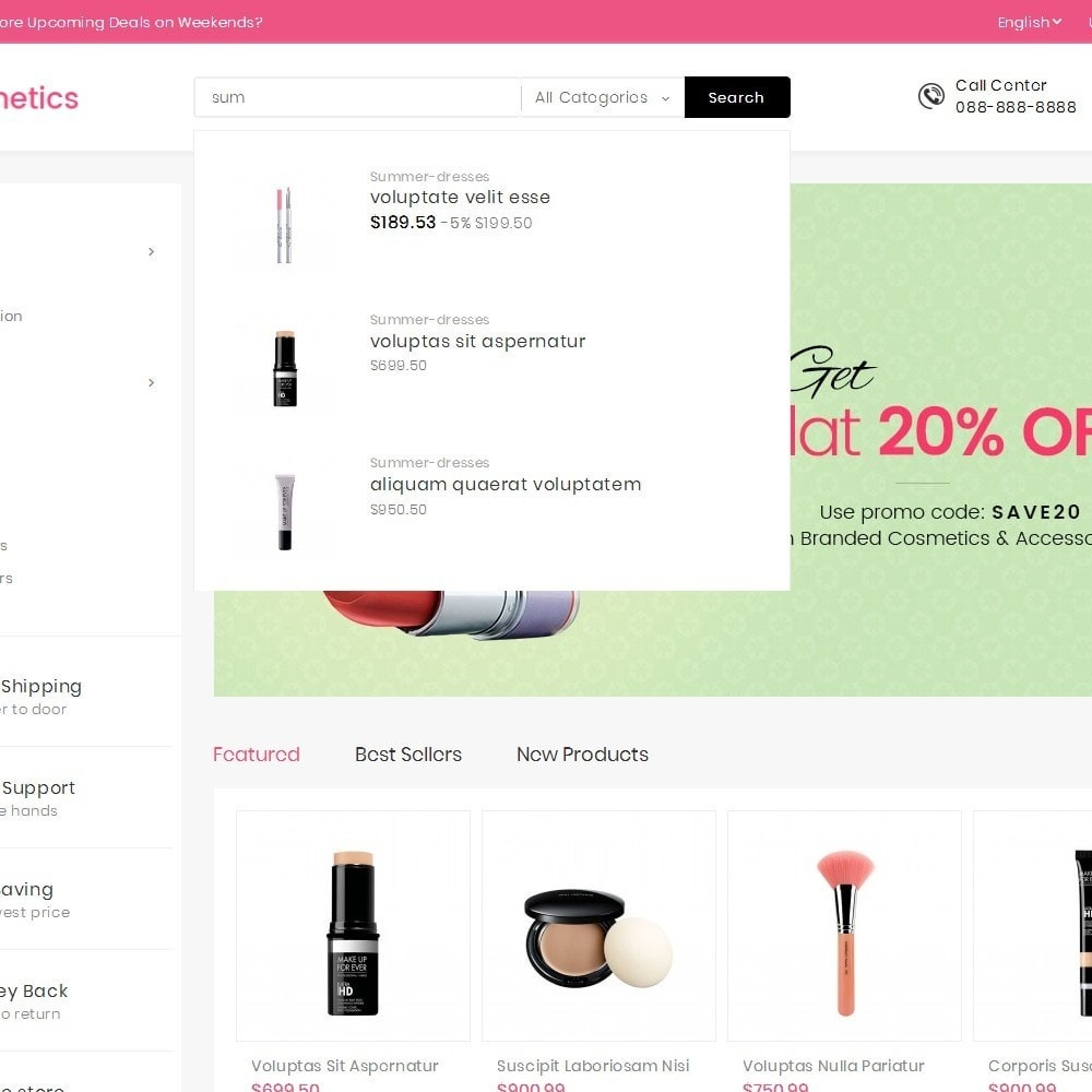 theme - Saúde & Beleza - Mega Cosmetics - 10