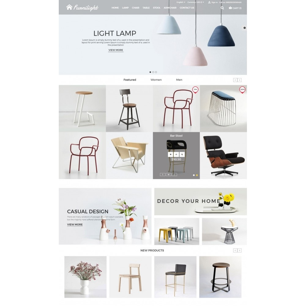 theme - Casa & Giardino - Furniture Light Store - 2