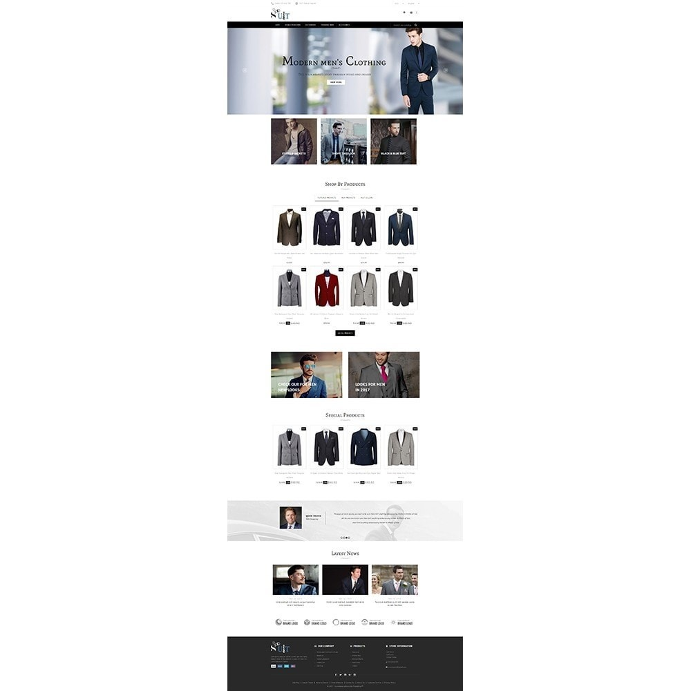 theme - Mode & Schoenen - Suit Store - 2