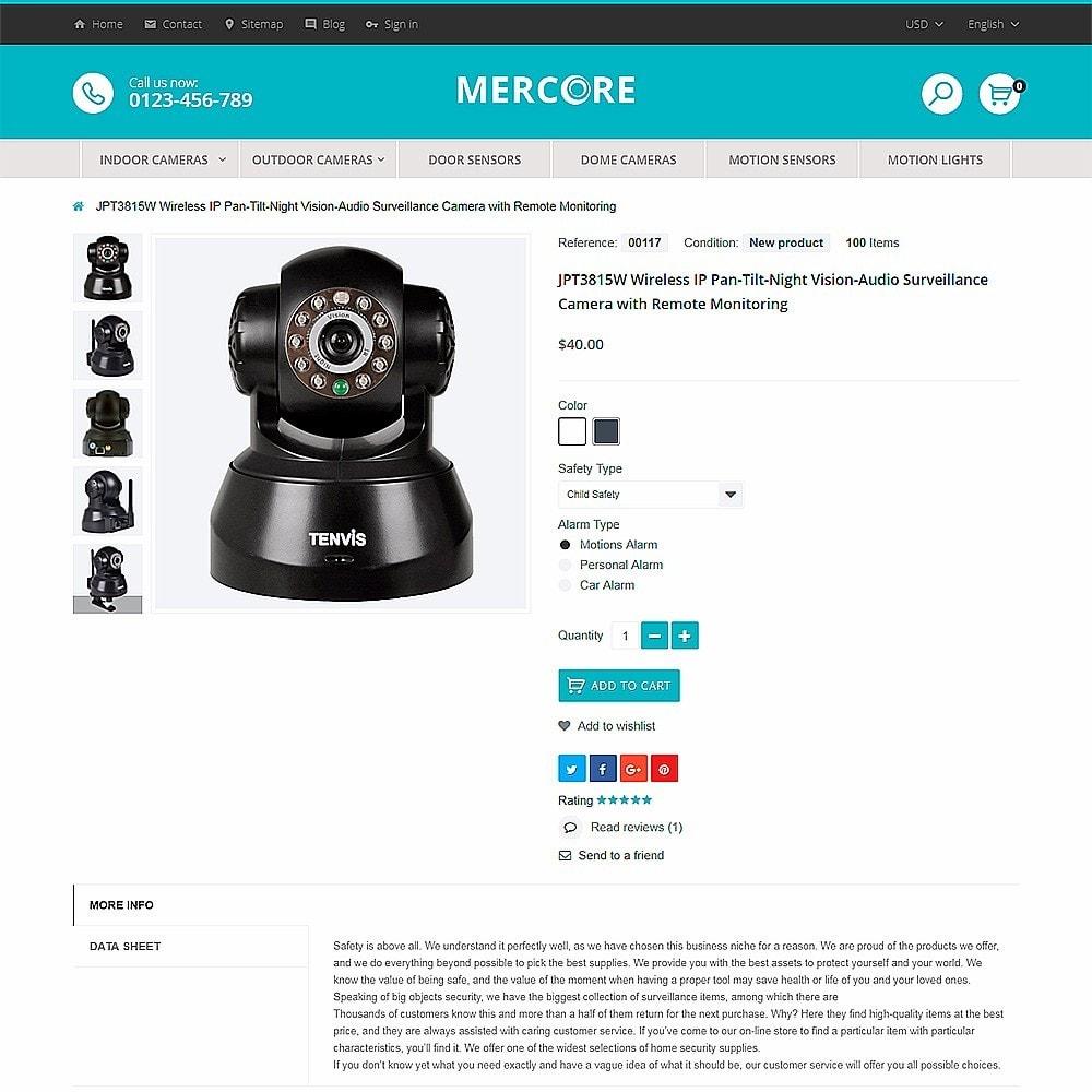 Mercore - Magasin d'équipement de sécurité