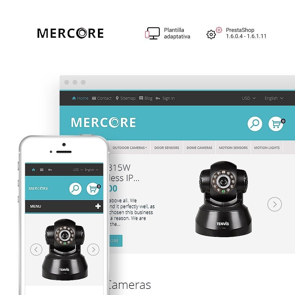 Mercore - Tema de PrestaShop para Sitio de Seguridad