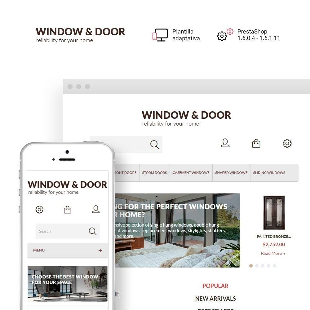 Window Door para Sitio de Ventanas