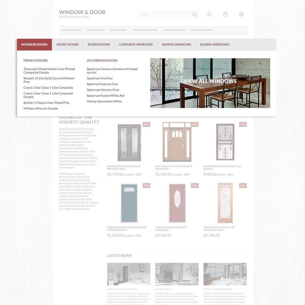 theme - Hogar y Jardín - Window Door para Sitio de Ventanas - 6