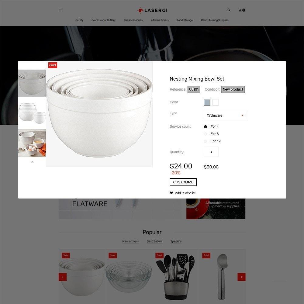 Glasergi - шаблон оборудования для кафе и ресторанов