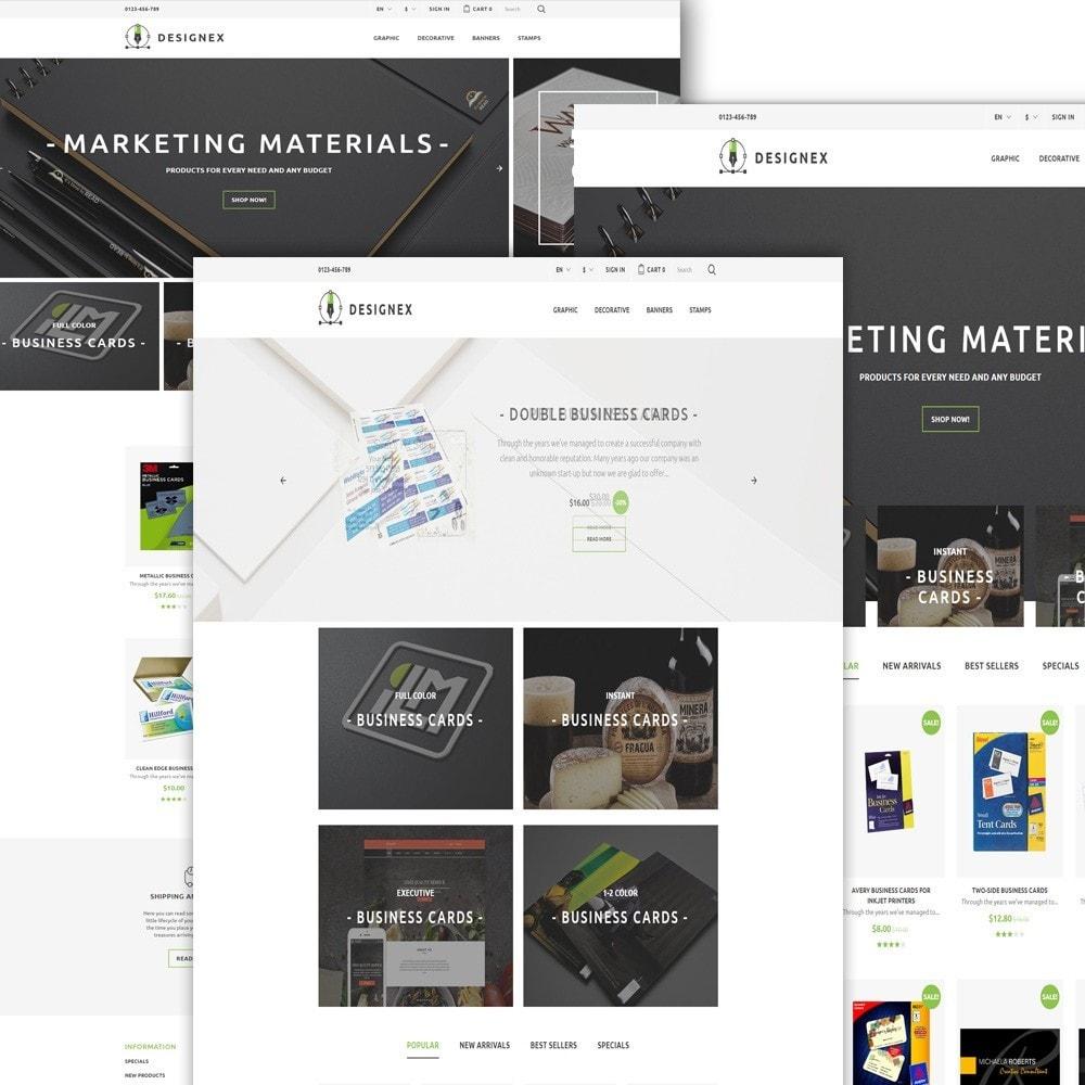 theme - Arte y Cultura - Designex - para Sitio de Estudios de diseño - 2
