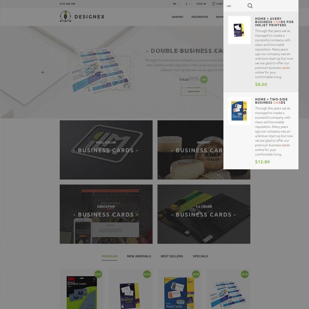 theme - Arte y Cultura - Designex - para Sitio de Estudios de diseño - 5
