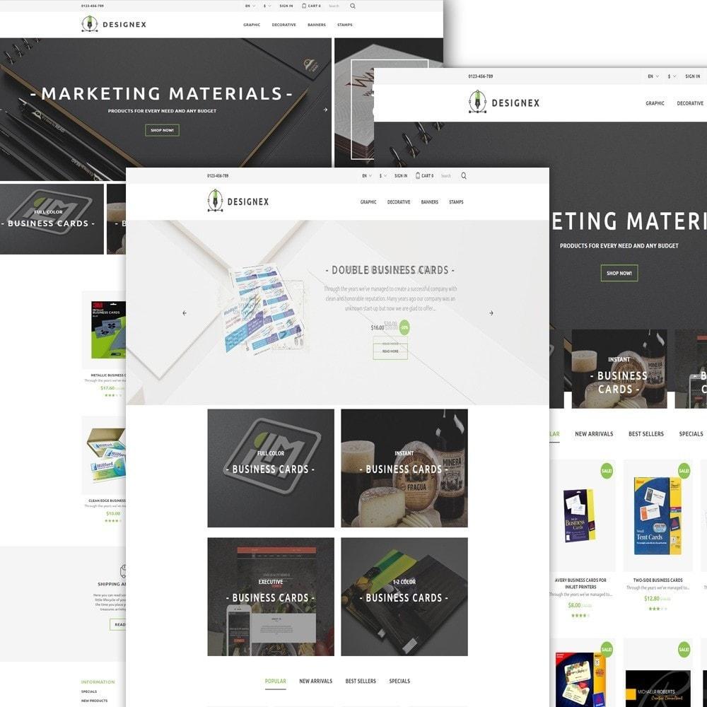 Designex - PrestaShop шаблон студии дизайна