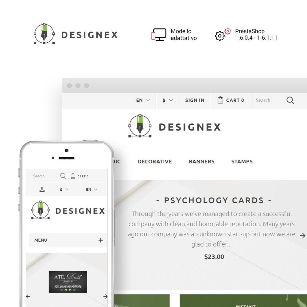 theme - Arte & Cultura - Designex - Design Aziendale - 1