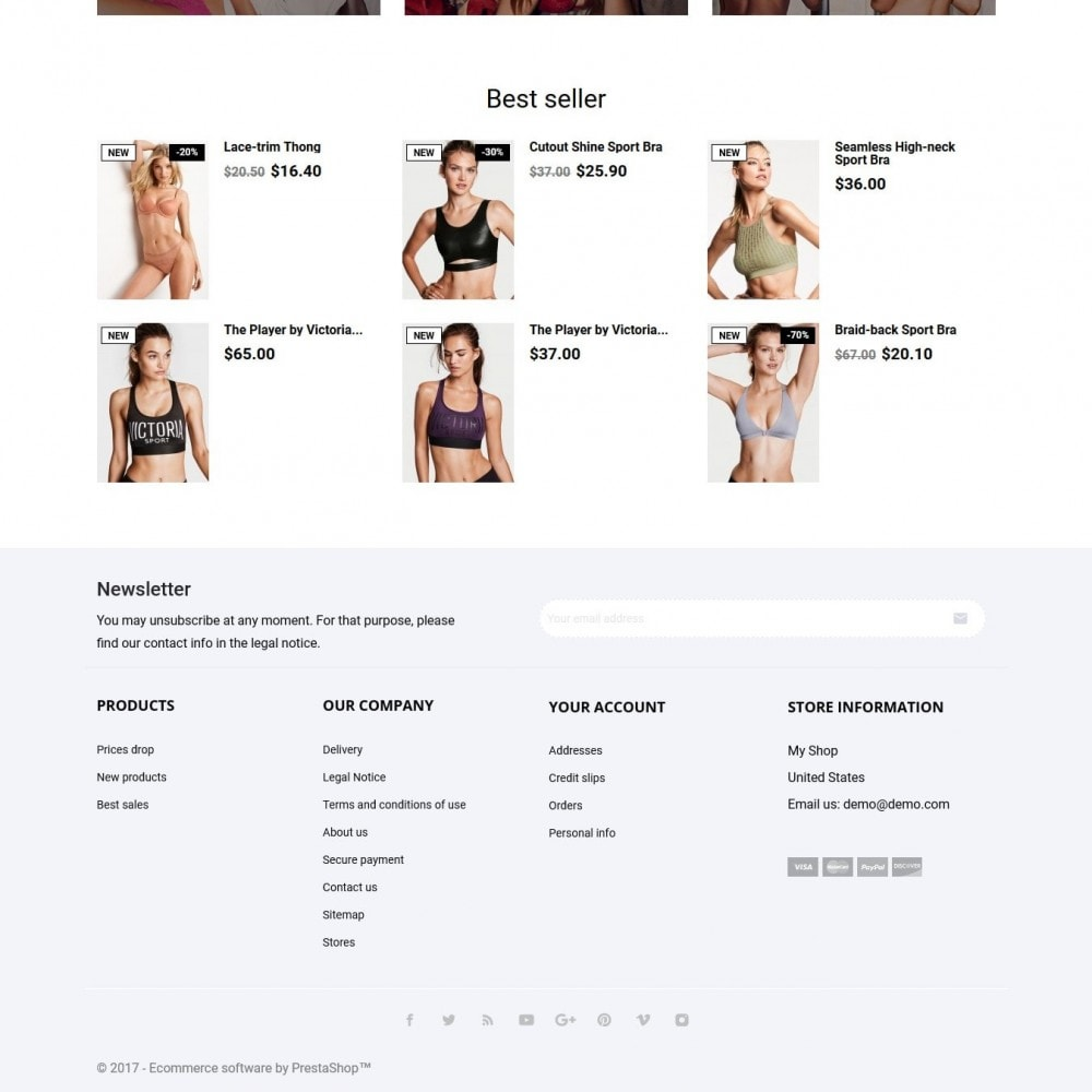 theme - Нижнее белье и товары для взрослых - Babydolls Lingerie Shop - 3