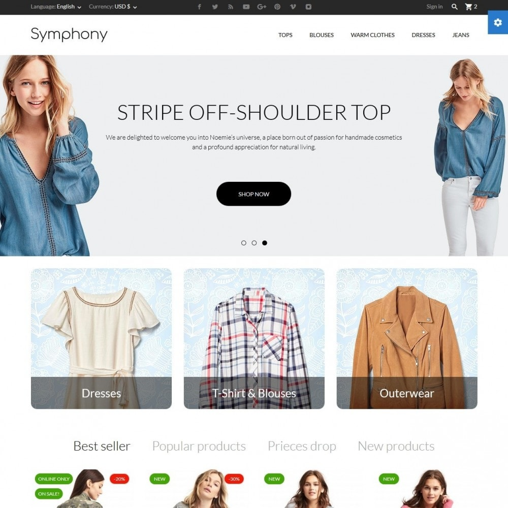 Symphony - High-tech Shop