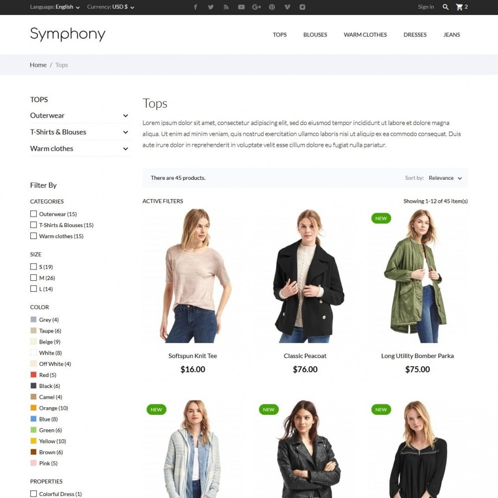 theme - Fashion & Shoes - Symphony - High-tech Shop - 5
