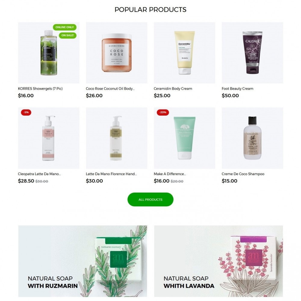 theme - Health & Beauty - Capinella Cosmetics - 3