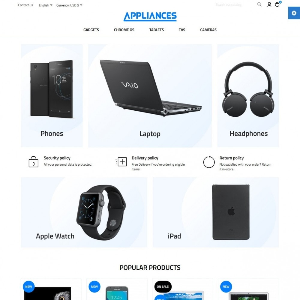 Appliances - High-tech Shop