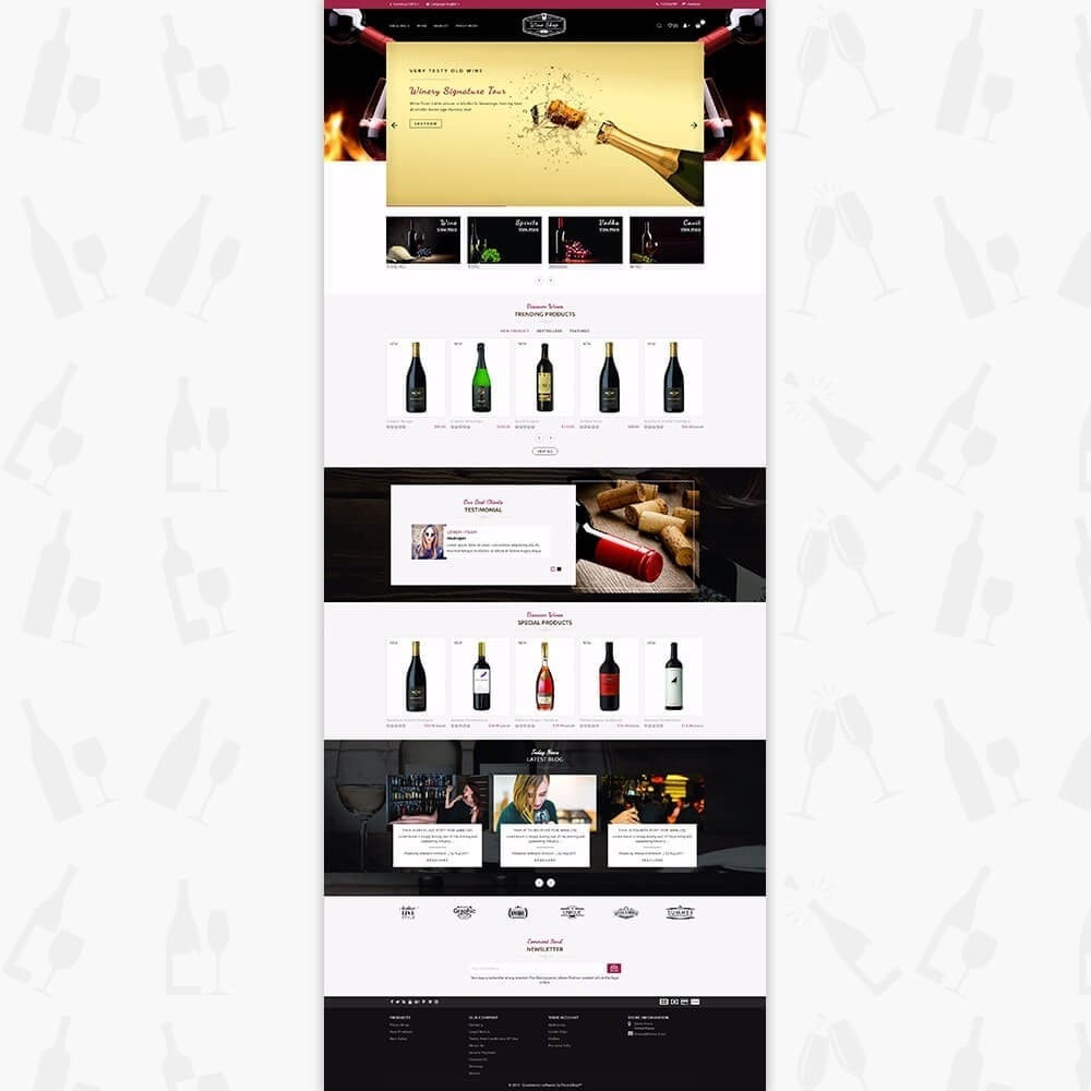 theme - Drink & Wine - Wine Club - 2