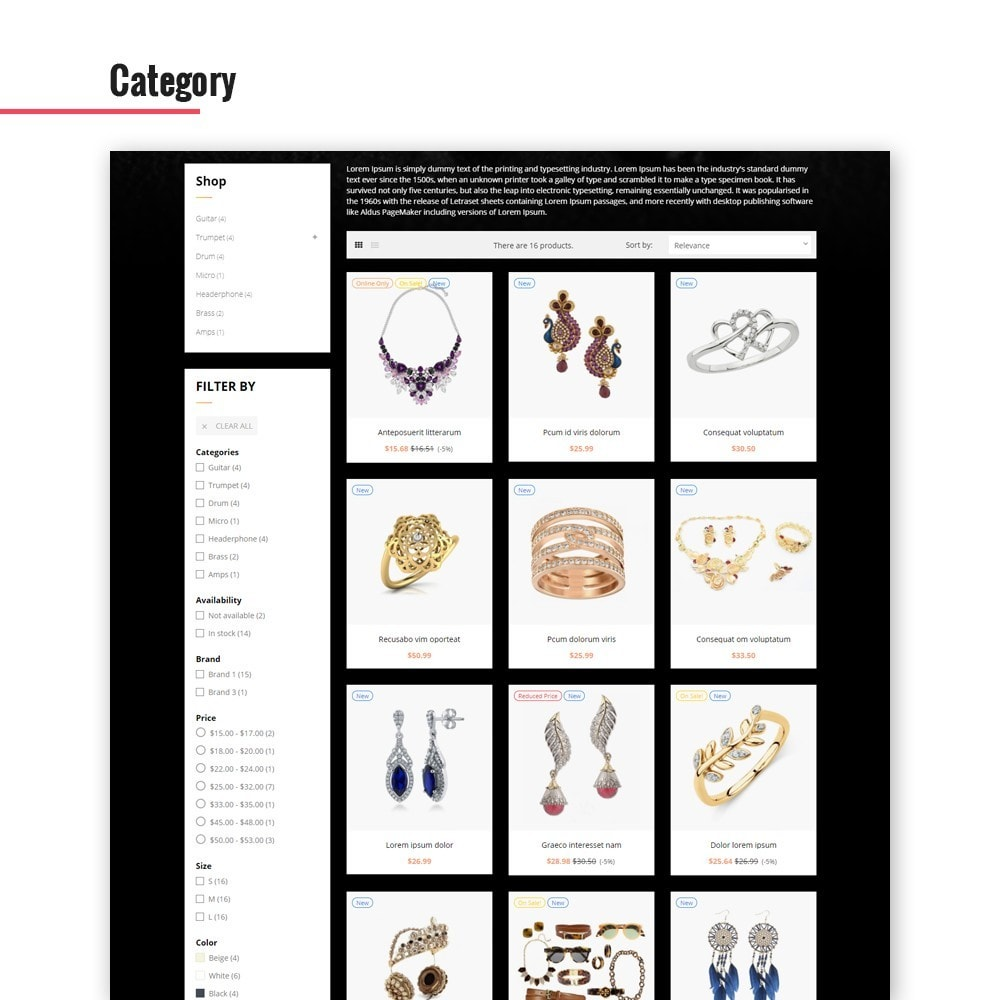 theme - Jewelry & Accessories - Leo Glamulet - 4