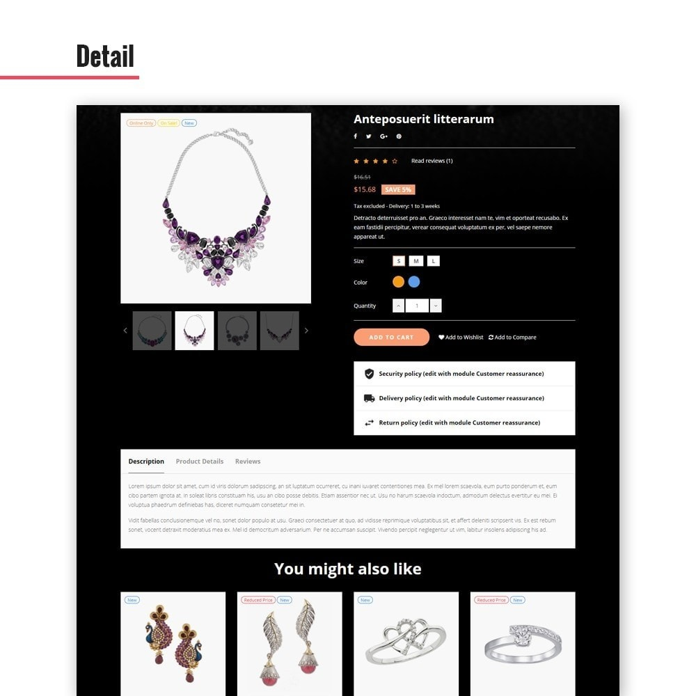 theme - Jewelry & Accessories - Leo Glamulet - 6