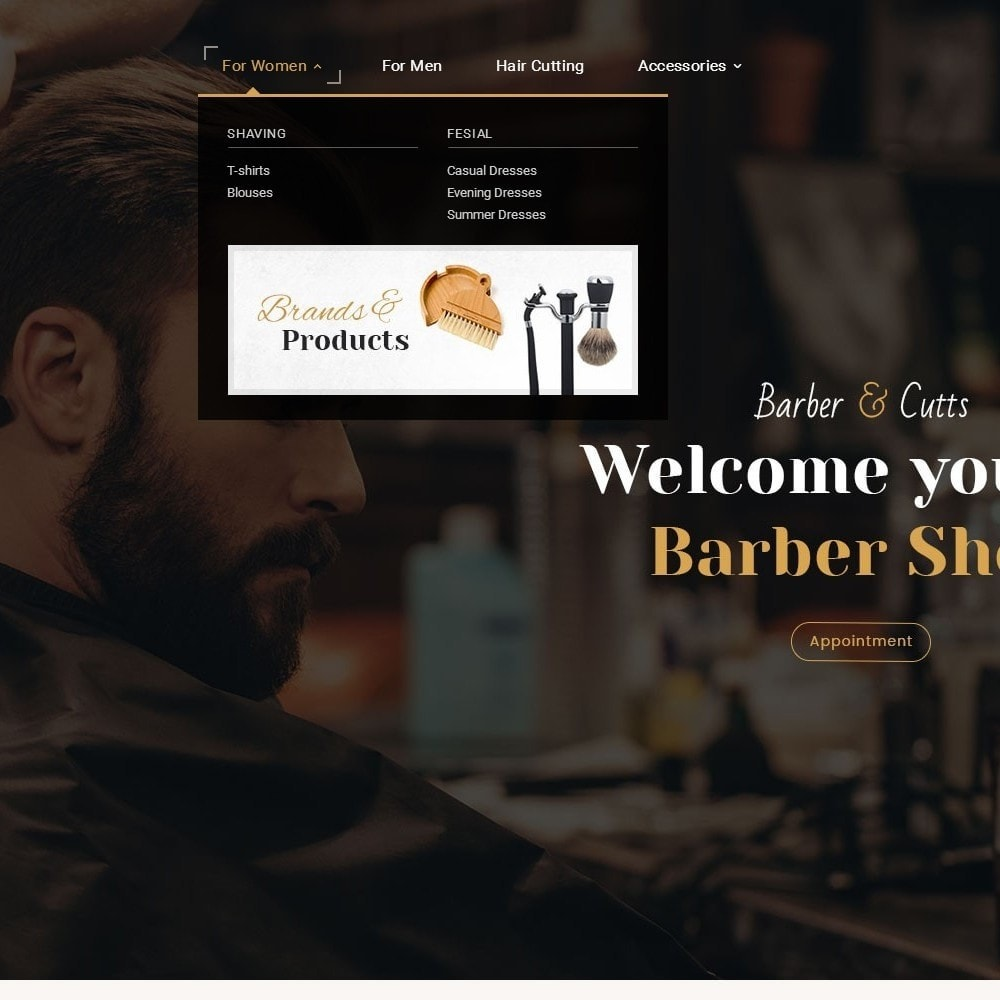 theme - Health & Beauty - Barber Shop - 9