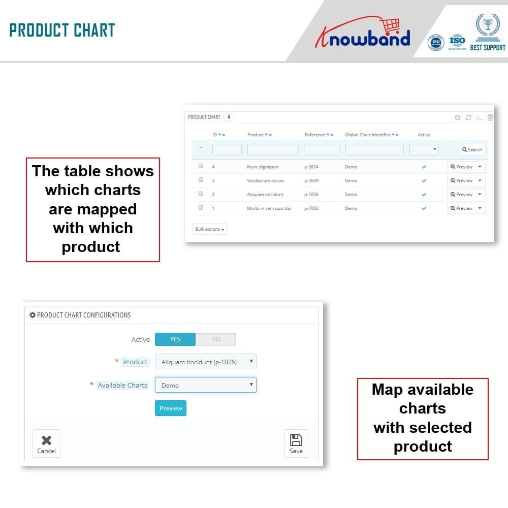 module - Additional Information & Product Tab - Knowband - Product size chart - 9