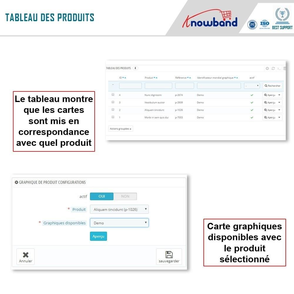 module - Information supplémentaire & Onglet produit - Knowband - Guide des tailles de produit - 9