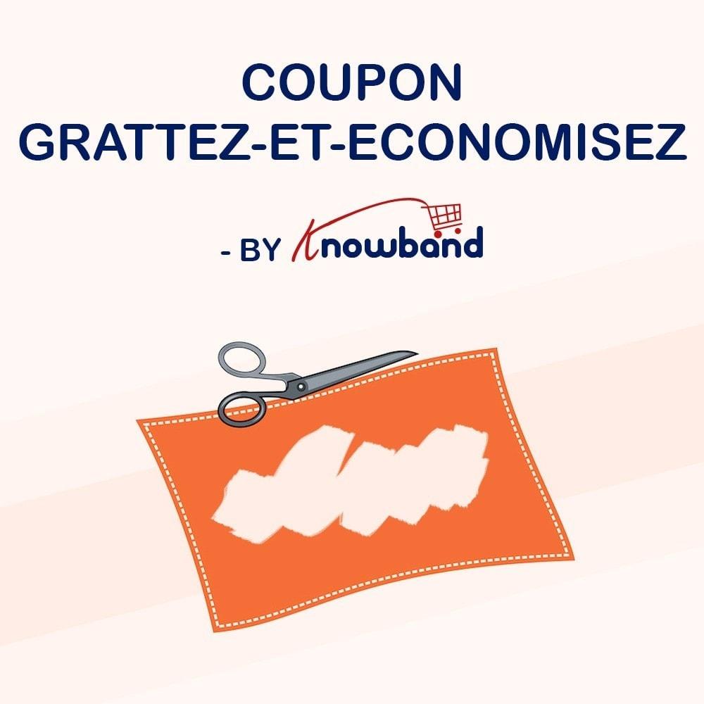 module - Jeux-concours - Knowband - Coupon Grattez-et-Economisez - 1