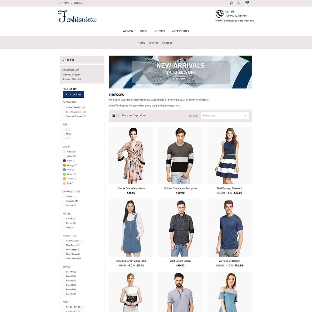 theme - Moda & Calzature - The Fashionista - 4
