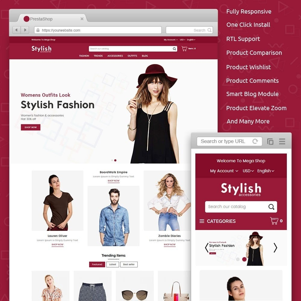 Stylish Fashion Store