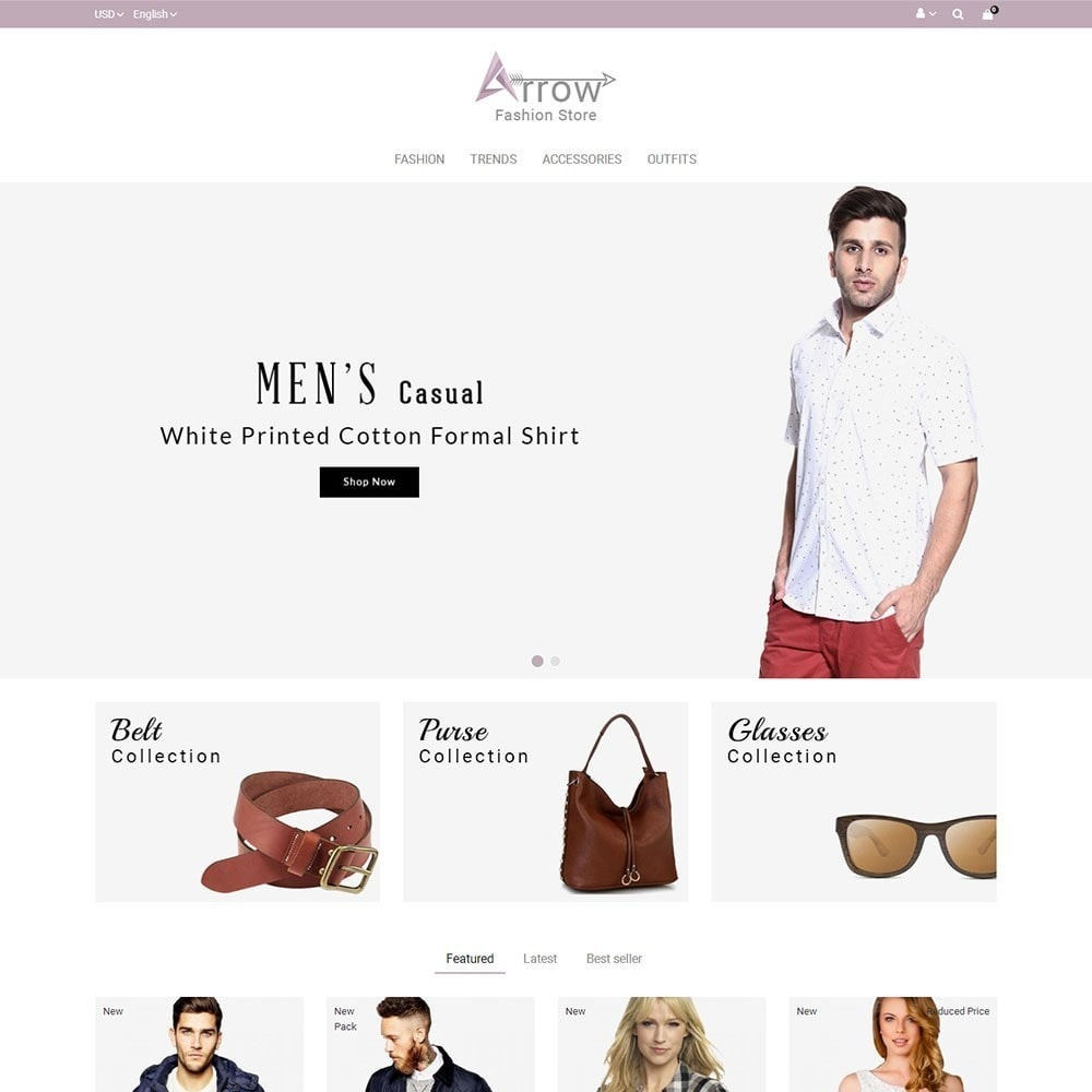Arrow Fashion Store