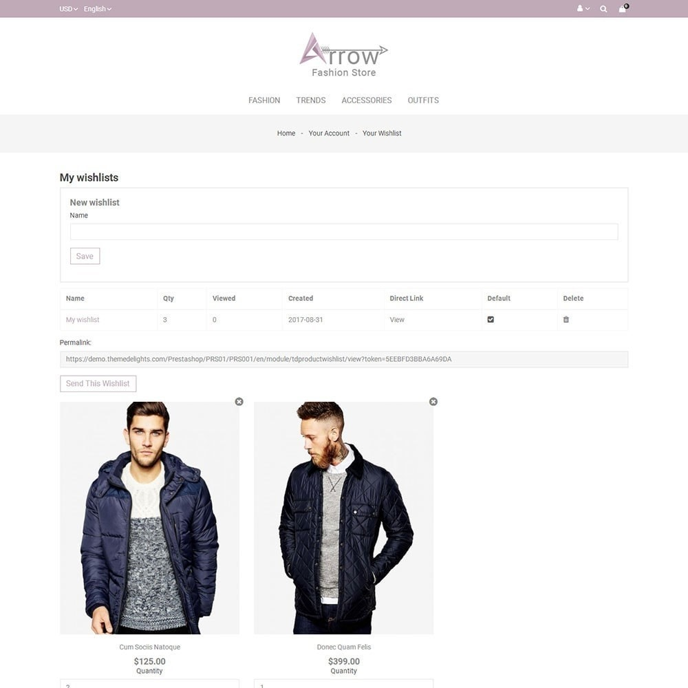 theme - Мода и обувь - Arrow Fashion Store - 8