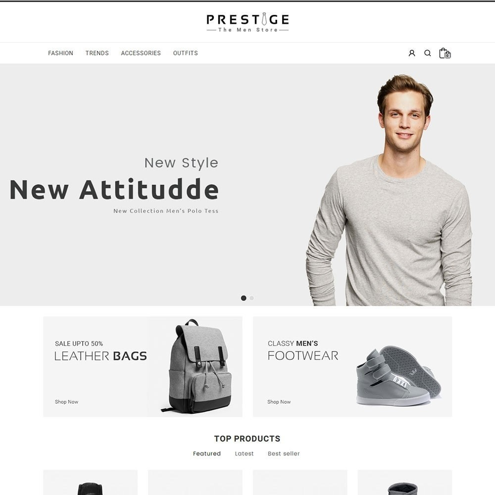theme - Fashion & Shoes - Prestige Fashion Store - 2