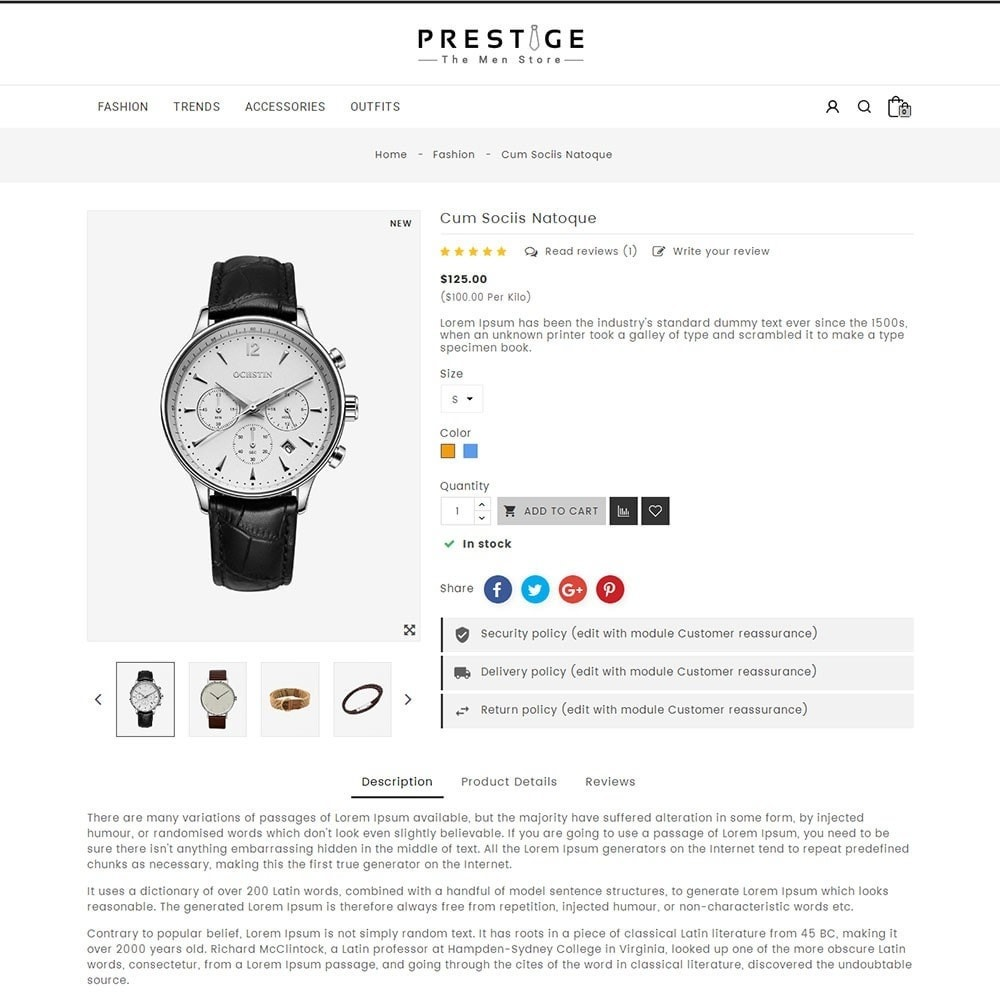 theme - Mode & Schoenen - Prestige Fashion Store - 5