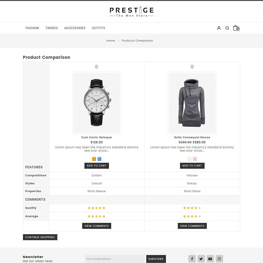 theme - Mode & Schoenen - Prestige Fashion Store - 7