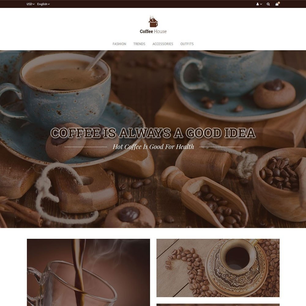 theme - Alimentation & Restauration - Coffee House Store - 2