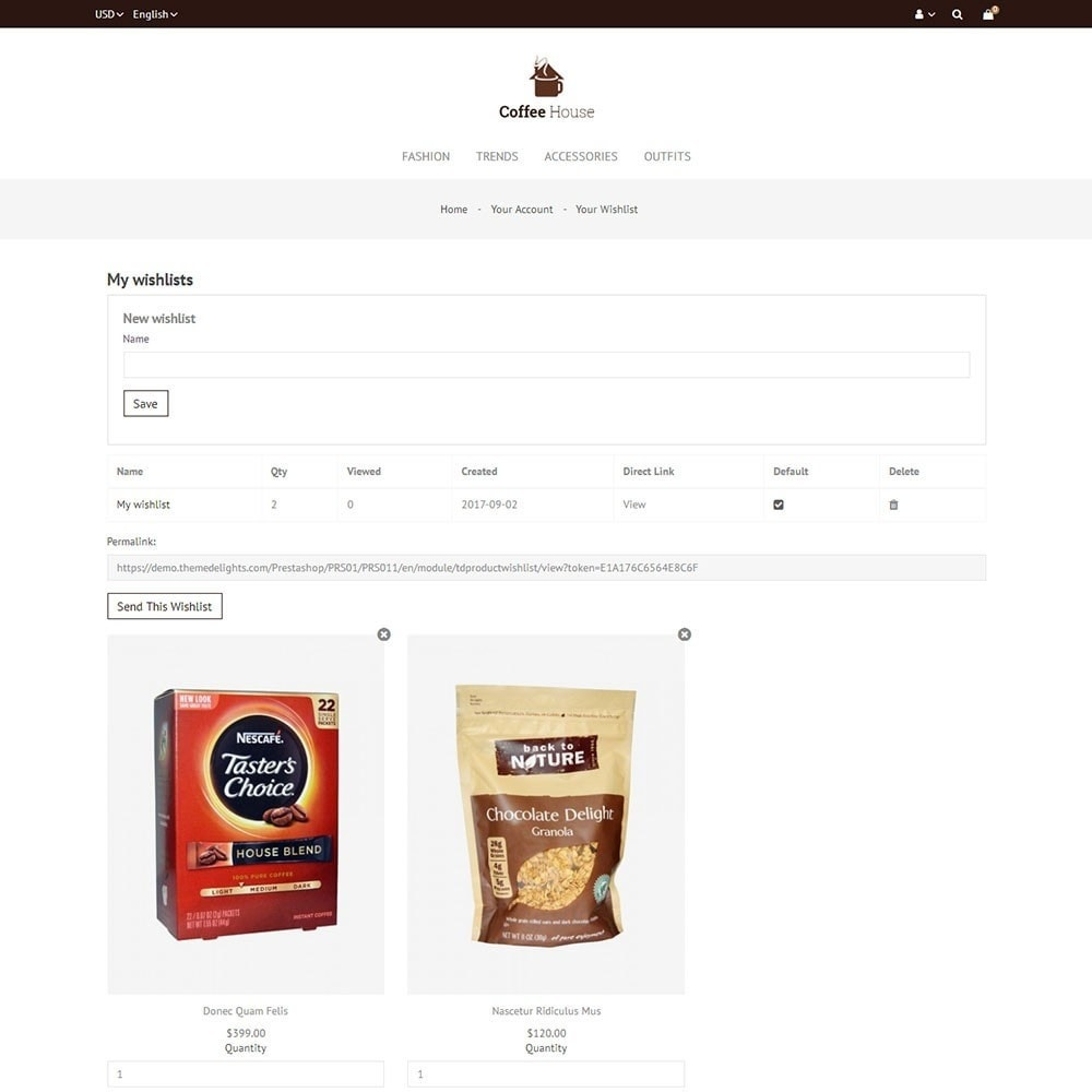 theme - Alimentation & Restauration - Coffee House Store - 8