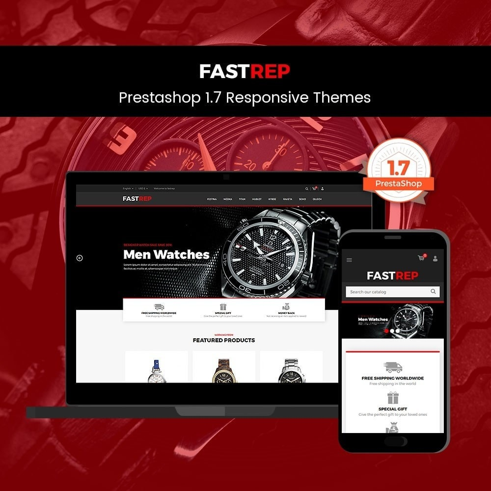 theme - Mode & Chaussures - Fasttrep - Watch Store - 1