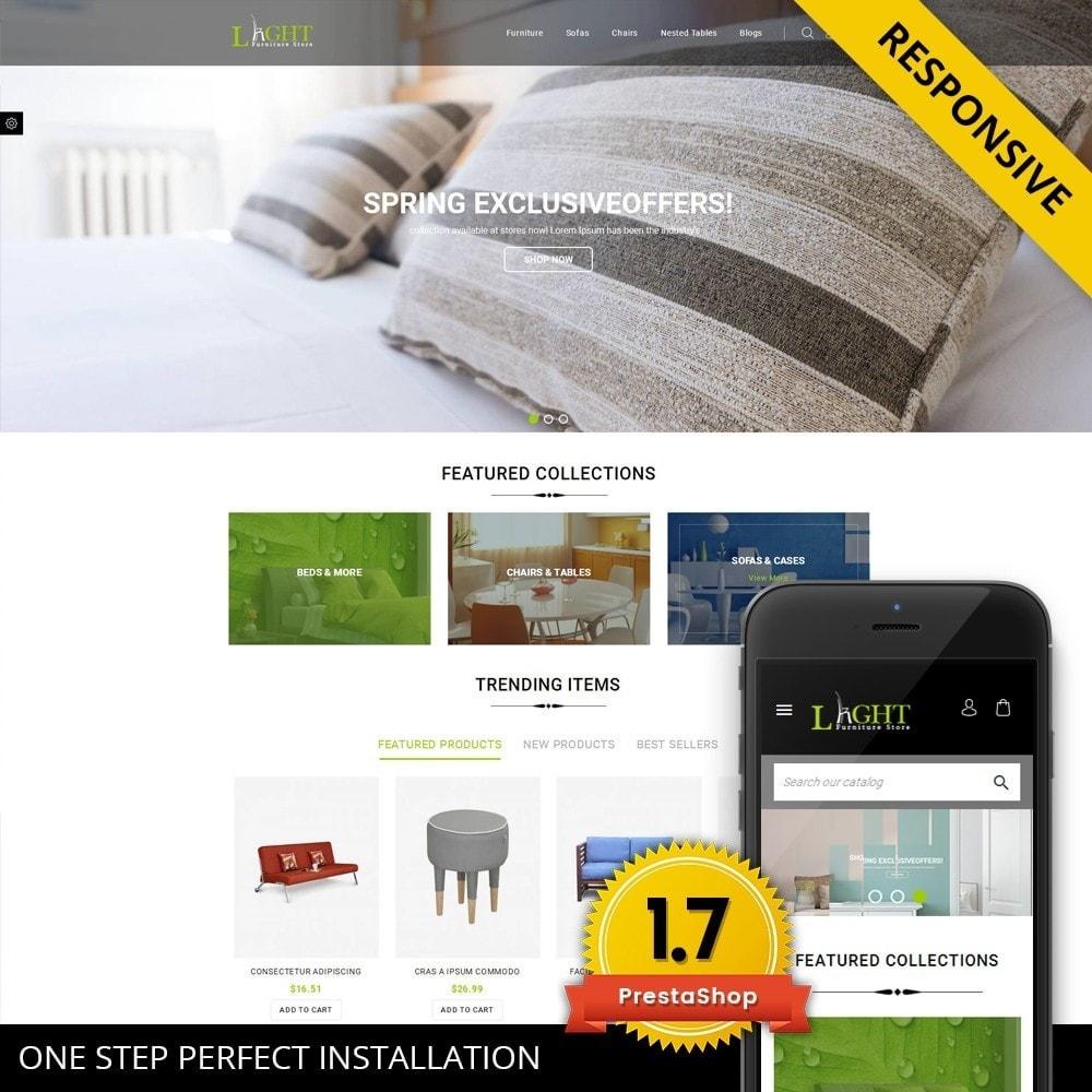 Light - Furniture Store Template