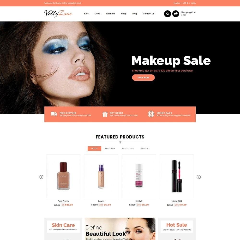 theme - Zdrowie & Uroda - Vellyzone - Cosmetics  Store - 2