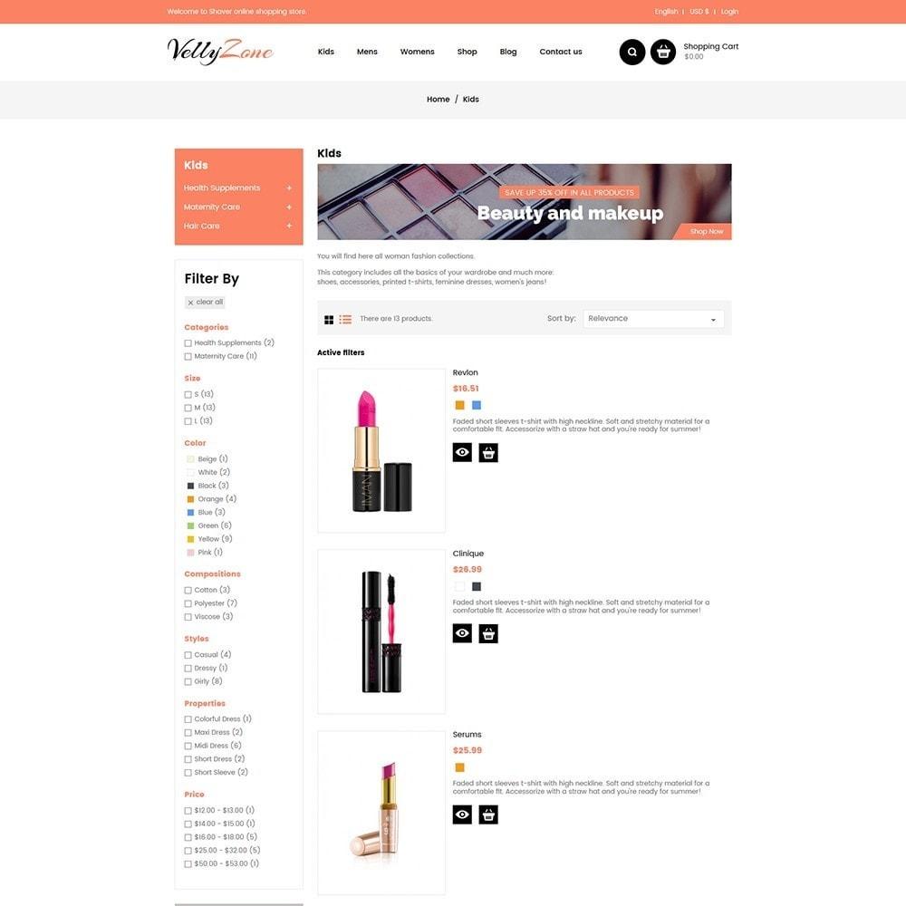 theme - Zdrowie & Uroda - Vellyzone - Cosmetics  Store - 4