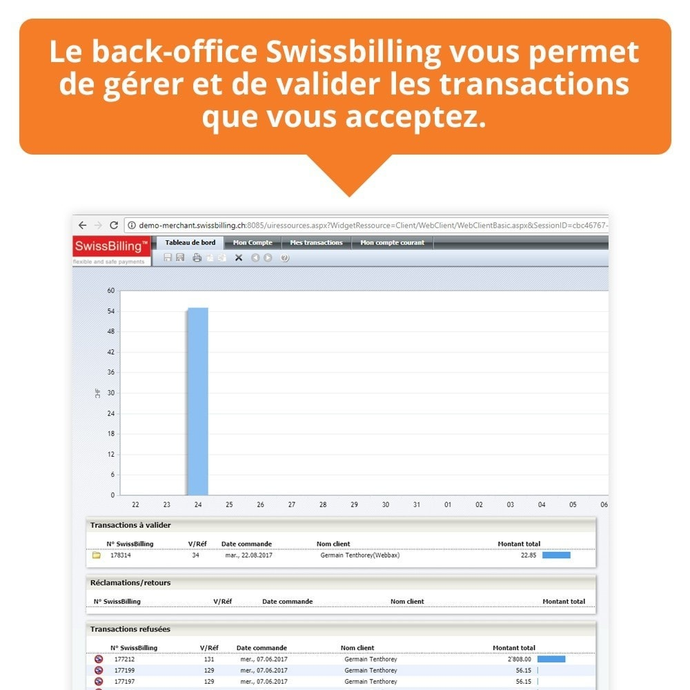 module - Pago mediante Factura - Swissbilling - Payment by invoice - 7