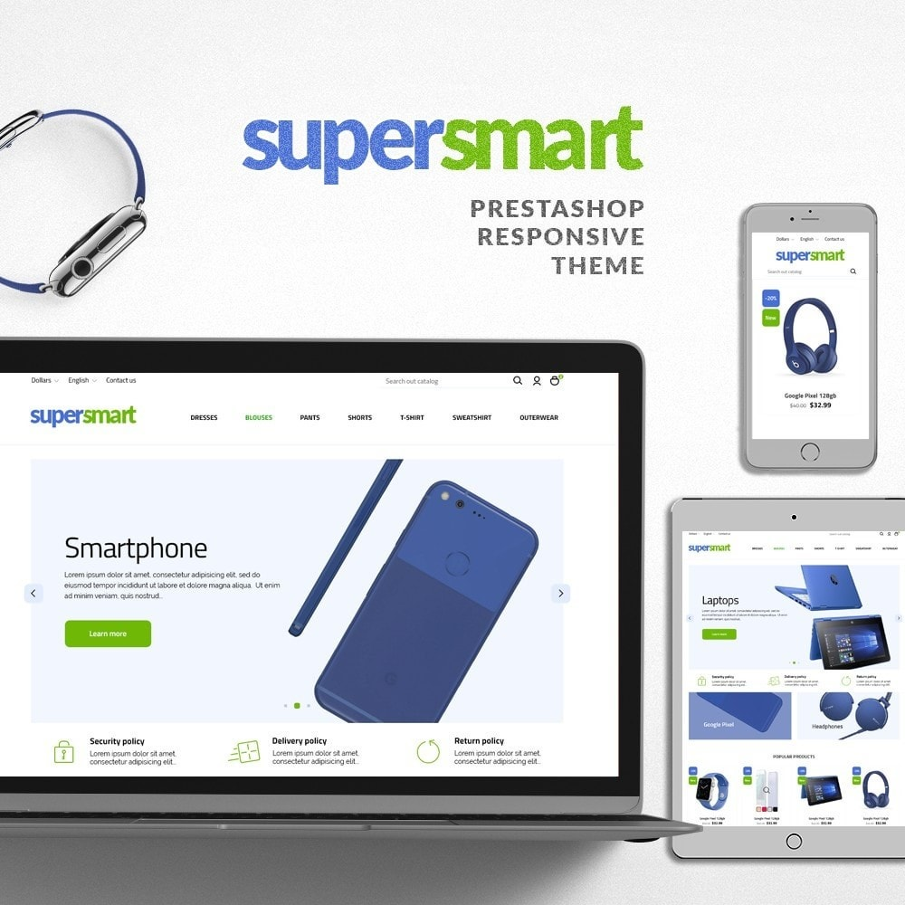 theme - Elettronica & High Tech - Supersmart - 1