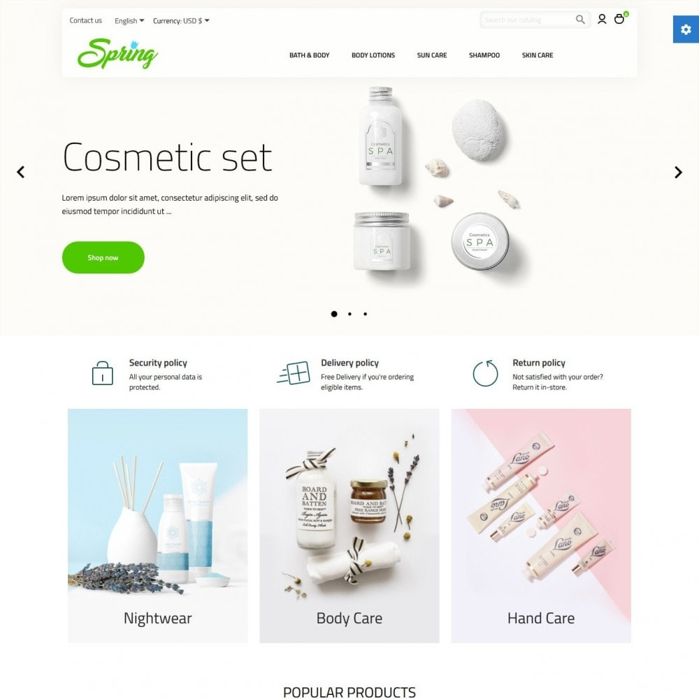 theme - Health & Beauty - Spring Cosmetics - 2