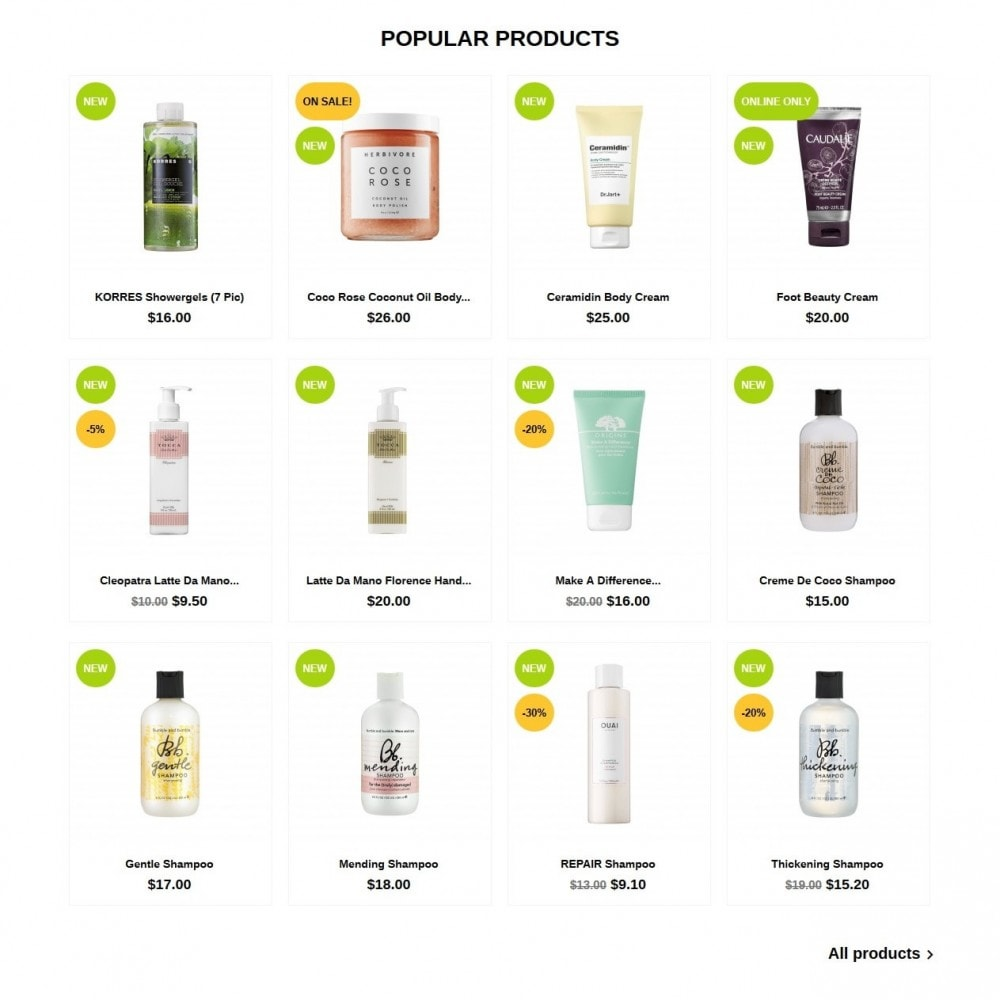 theme - Health & Beauty - OrganicFormula Cosmetics - 3