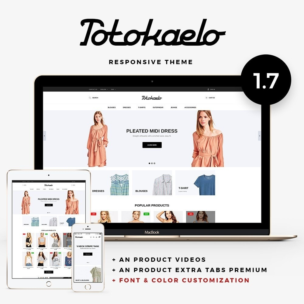 theme - Мода и обувь - Totokaelo Fashion Store - 1