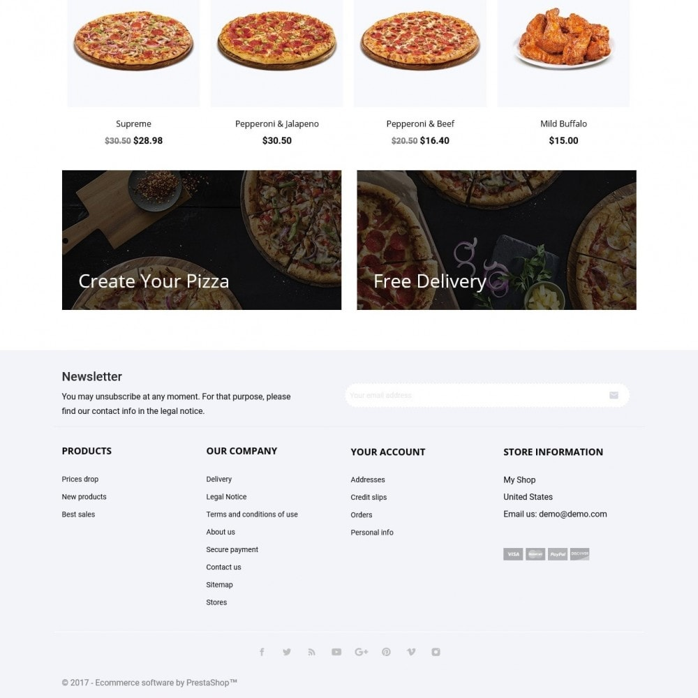 theme - Eten & Restaurant - Pizzalia - 4