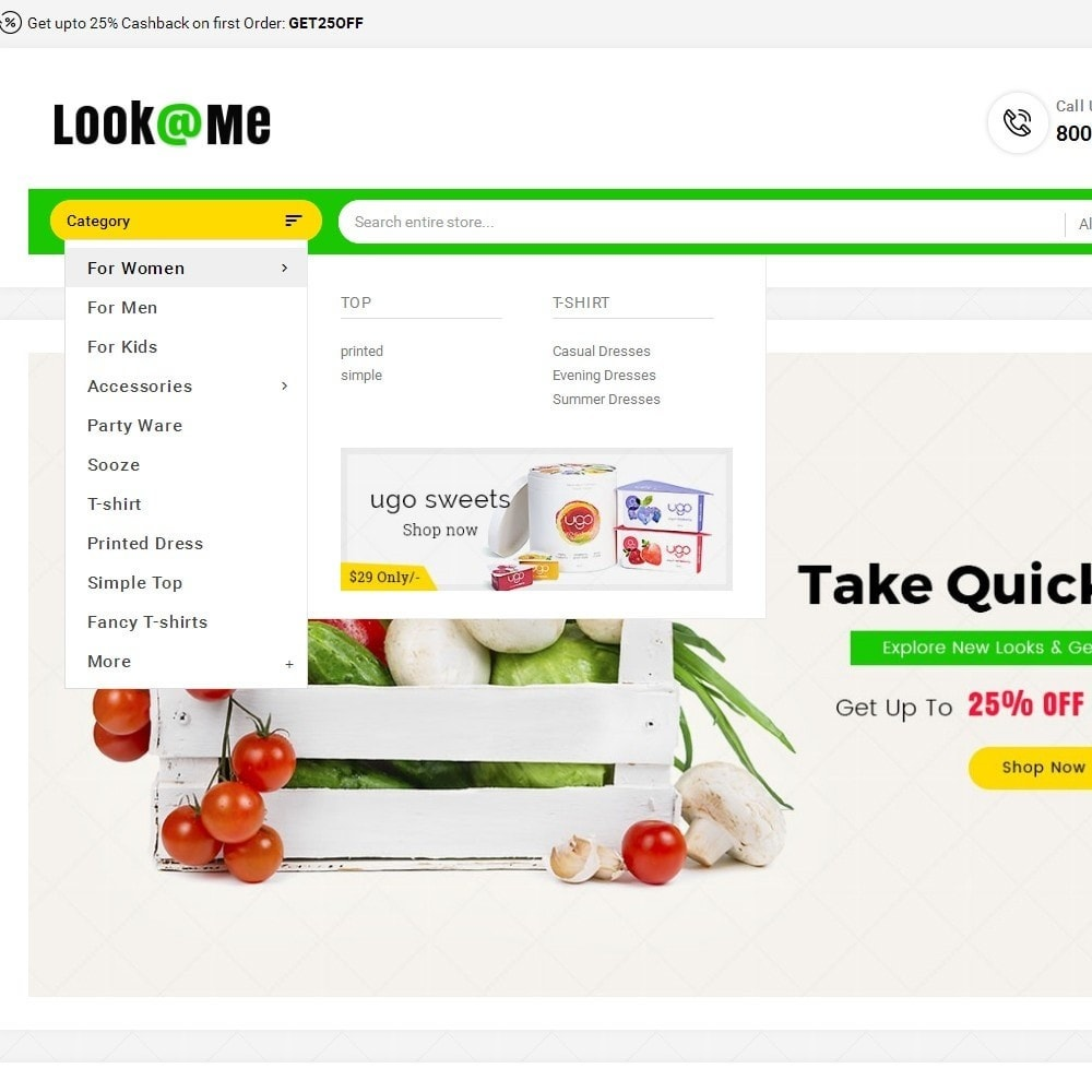 theme - Alimentation & Restauration - Look me Grocery Food - 9