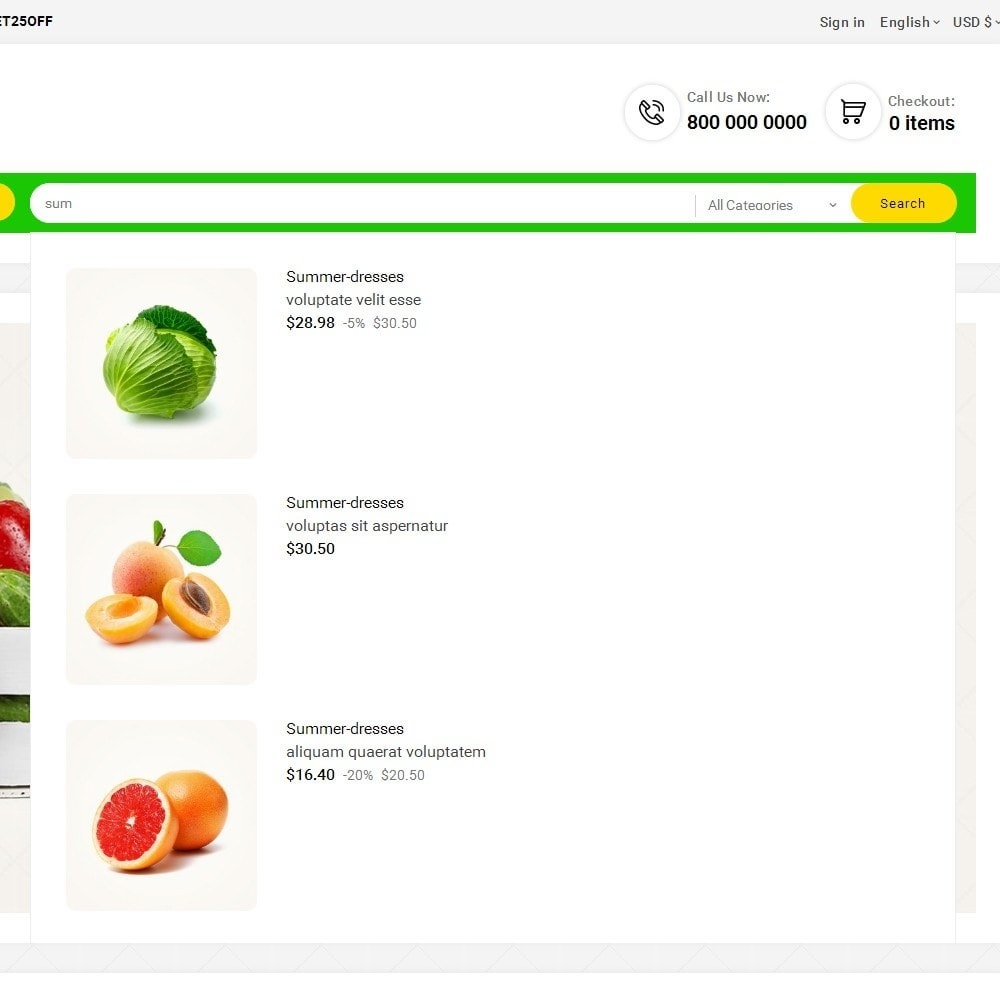 theme - Alimentation & Restauration - Look me Grocery Food - 10