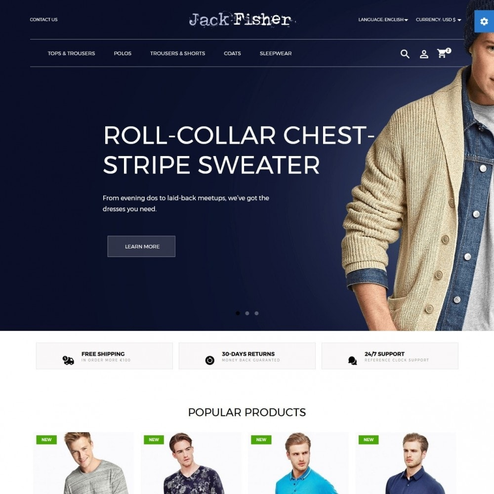 Jack Fisher Men's Wear