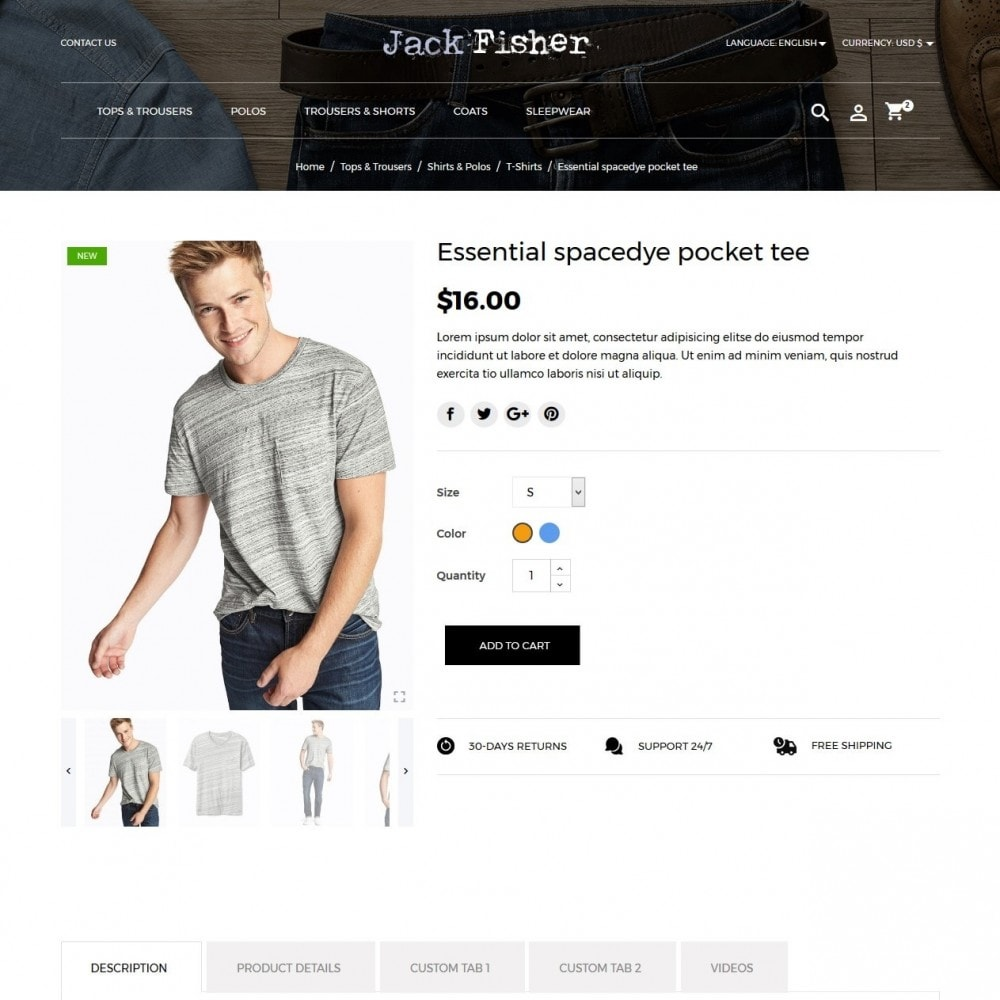 theme - Moda & Calzature - Jack Fisher Men's Wear - 6