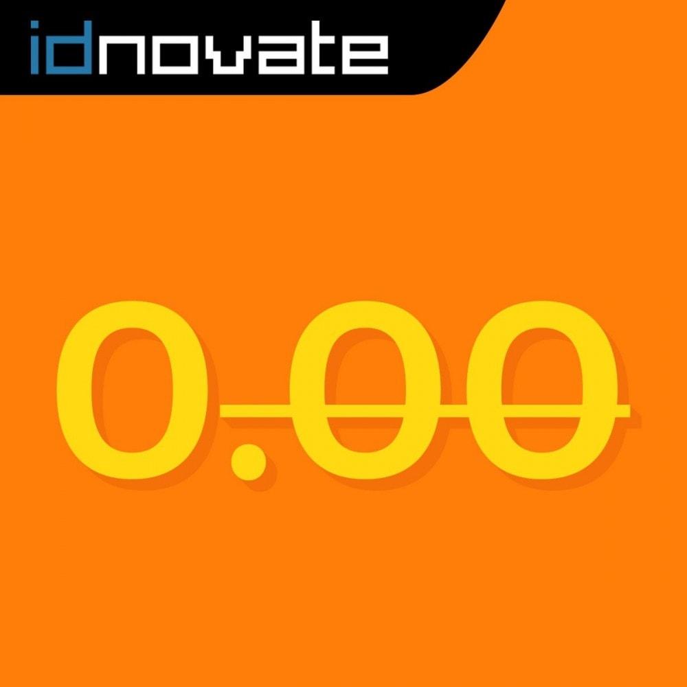 module - Gestión de Precios - Elimina o cambia los decimales y formatea la moneda - 1