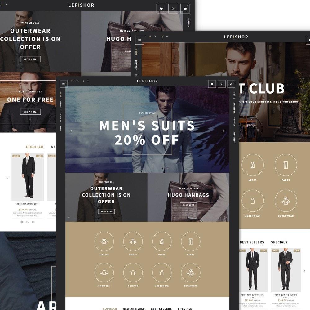 Lefishor - Vêtements & Accessoires pour hommes