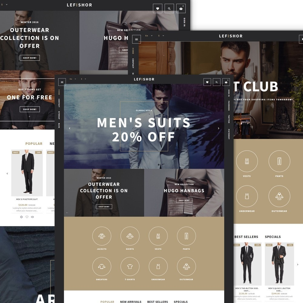 Lefishor - Men's Clothes & Accessories